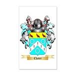 Chater 35x21 Wall Decal