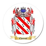 Chatenet Round Car Magnet