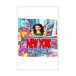 new york city girl Poster Print (Mini)