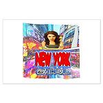 new york city girl Poster Art