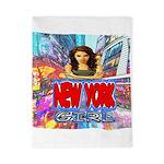 new york city girl Twin Duvet