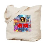 new york city girl Tote Bag