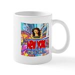 new york city girl Small Mug