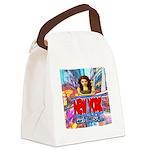 new york city girl Canvas Lunch Bag