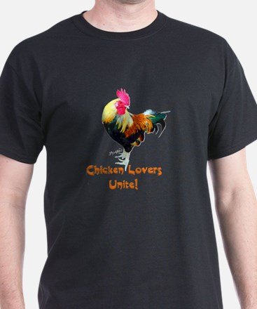 Chicken Lovers Unite! T-Shirt