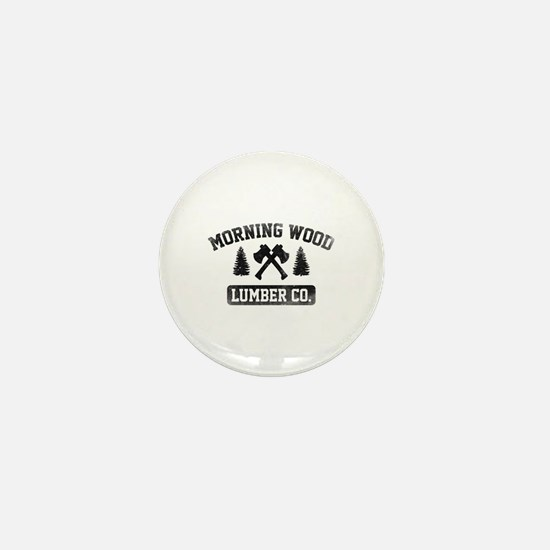 Morning Wood Lumber Co. Mini Button