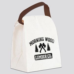 Morning Wood Lumber Co. Canvas Lunch Bag