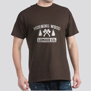 Morning Wood Lumber Co. Dark T-Shirt