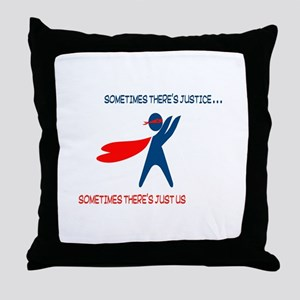 CASA Hero Justice Throw Pillow
