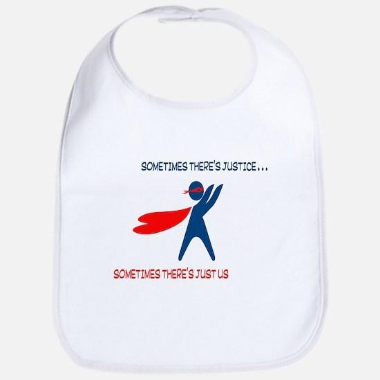 CASA Hero Justice Bib