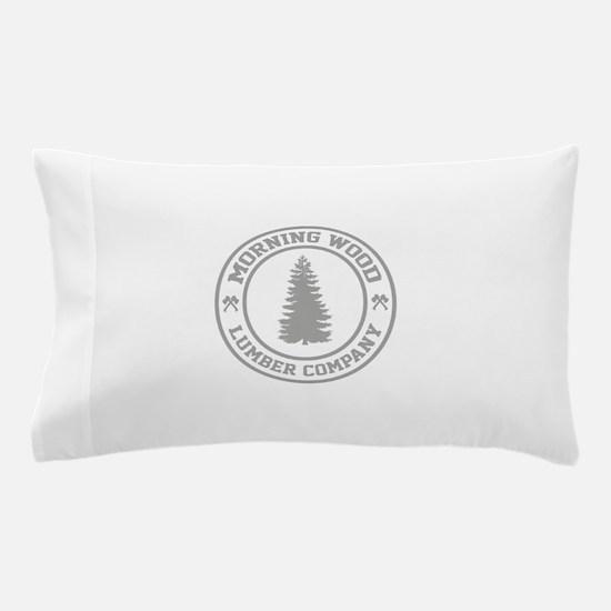 Morning Wood Lumber Co. Pillow Case