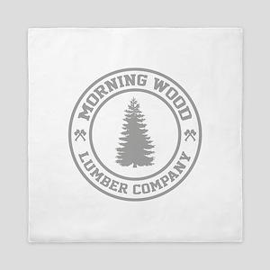 Morning Wood Lumber Co. Queen Duvet