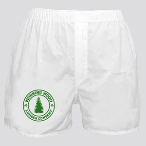 Morning Wood Lumber Co. Boxer Shorts