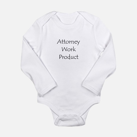 Attorney Work Product Body Suit