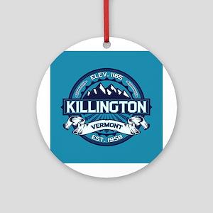 Killington Ice Ornament (Round)
