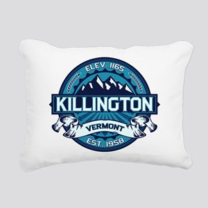 Killington Ice Rectangular Canvas Pillow