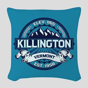 Killington Ice Woven Throw Pillow