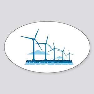 Offshore Wind Farm Sticker