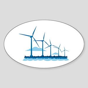 Offshore Wind Farm Sticker