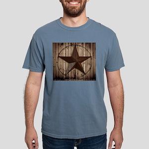 Barn wood Texas star Mens Comfort Colors Shirt