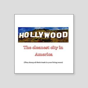 Hooray for Hollywood! Sticker