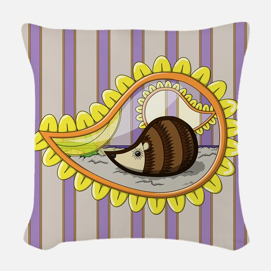 Chrissy Woven Throw Pillow