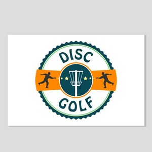 Disc Golf Postcards (Package of 8)