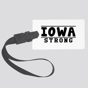 Iowa Strong Designs Large Luggage Tag