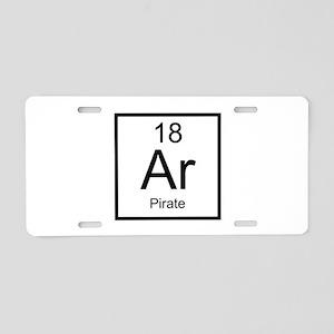 Ar Pirate Aluminum License Plate