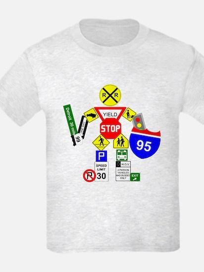 Street Sign Warrior T-Shirt
