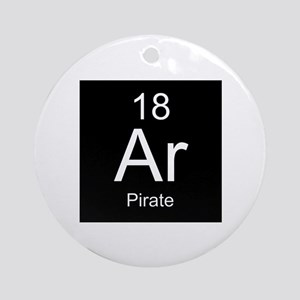 Ar Pirate Ornament (Round)
