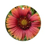 Firewheel on Fire Ornament (Round)
