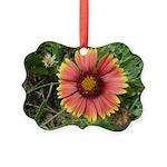Firewheel on Fire Ornament