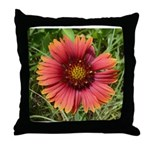 Firewheel on Fire Throw Pillow