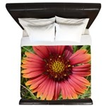 Firewheel on Fire King Duvet
