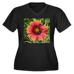 Firewheel on Fire Plus Size T-Shirt