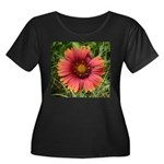 Firewheel on Fire Plus Size T-Shirt