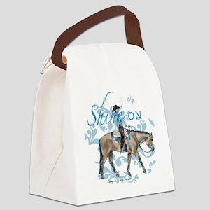 Western Pleasure Shine On Canvas Lunch Bag