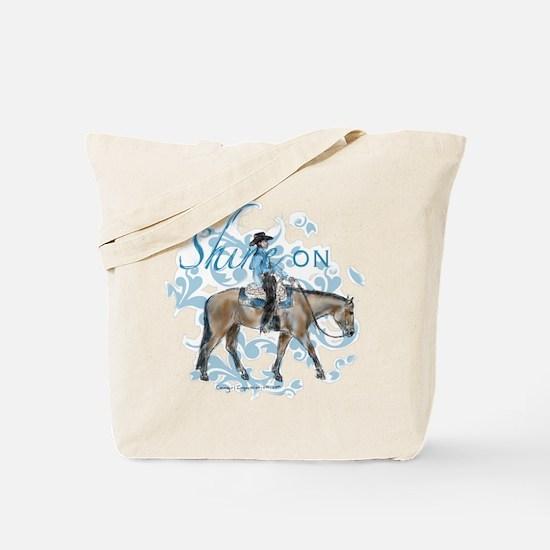 Western Pleasure Shine On Tote Bag