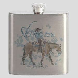 Western Pleasure Shine On Flask