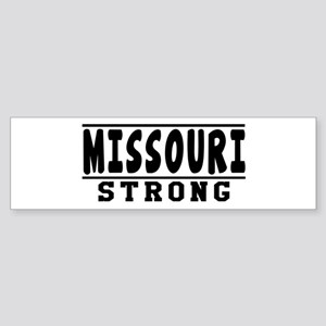 Missouri Strong Designs Sticker (Bumper)