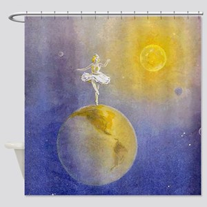 Earth Dancer Shower Curtain