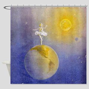 Earth Dancer Shower Curtain