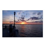 Titusville Pier Sunset Postcards (Package of 8)