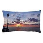 Titusville Pier Sunset Pillow Case