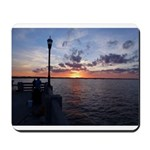 Titusville Pier Sunset Mousepad