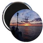 Titusville Pier Sunset Magnet