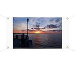 Titusville Pier Sunset Banner