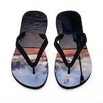 Titusville Pier Sunset Flip Flops