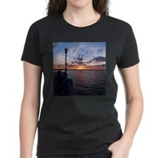 Titusville Pier Sunset T-Shirt